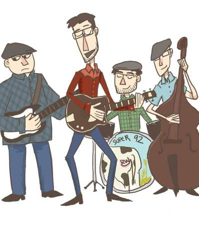 Jammin' (drawing by Caitlyn Lattin)